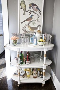 Amazing Bar Cart up cycle