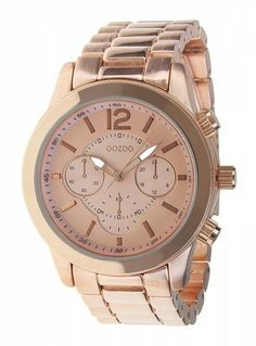 Want! Oozoo Rose Gold Watch