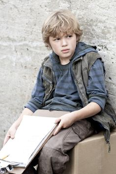 Maxim Knight as Max Masters, Jake's adopted brother.