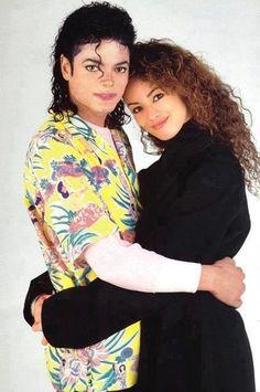 Michael Jackson and Tatiana.