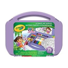 Crayola - Dora the Explorer Ultimate Art Case