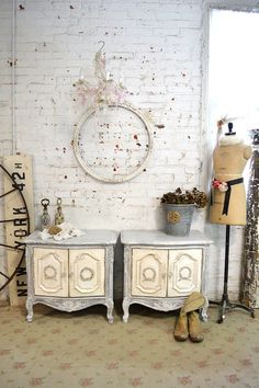 Painted+Cottage+Chic+Shabby+White+Romantic+by+paintedcottages,+$530.00