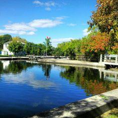 Rideau Canal - Hartwell Locks, Ontario