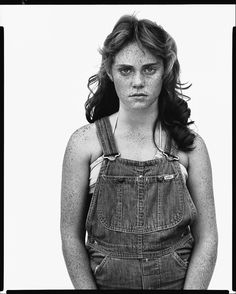 Richard Avedon - Twelve year old Sandra Bennett, Rocky Ford Colorado, 1980 - In the American West