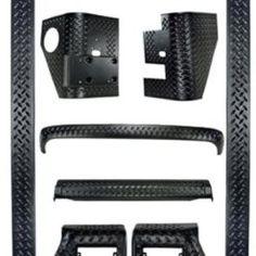 Jeep-Wrangler-9-Piece-Black-Full-Body-Armor-Kit-0