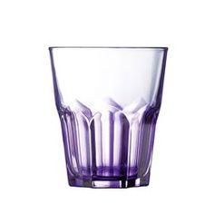 CRAZY COLORS Violet Verre forme basse 30 cl LUMINARC