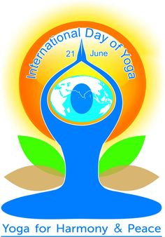Today has been officially designated the International Day of Yoga. According to the International Day of Yoga website, yoga is a physical, mental and Youtube Design, Vinyasa Yoga, Yoga Challenge, Happy Yoga Day, 21 June Yoga Day, Chakra Yoga, World Yoga Day, Happy International Yoga Day, Holistic Approach To Health