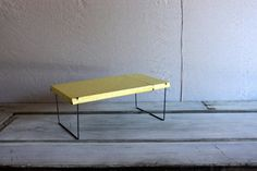 vintage metal  shelf  // kitchen pantry folding by umbrellafant