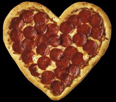♥ My kind of pizza!