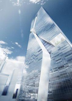 Shenzhen Guosen Securities Tower | Massimiliano and Doriana Fuksas #Architecture - ☮k☮