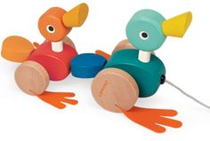 These ducklings are a gorgeous pull a long toy for Hugo that waddle as you pull encouraging movement and those first steps!  #EntropyWishList #PinToWin