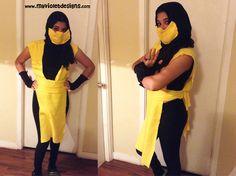 Disfraz de Scorpion, toga, polera, capucha y guantes, My Violet :D myvioletdesigns.com