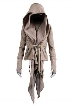 286 HARKIN JACKET TAUPE - NICHOLAS K Outerwear Women, Outerwear Jackets, Arsenal Women, Post Apocalyptic Fashion, Post Apocalyptic Clothing, Working Class, Assassins Creed, Absolutely Fabulous, Larp