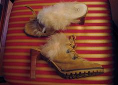 "COACH ""Kristy"" High Heel Shoes Camel Suede Slides Sz 6.5 B Made Italy P618 F04 #Coach #Stilettos #Formal"