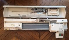 ERKA-T90-BROTHER-KH940-ROBOT-KG-Electronic-Knitting-Machine-Tricoter-Etat-Neuf
