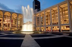 Lincoln Center, NYC - via Design Hunting