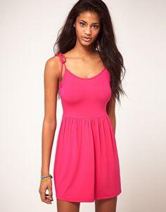 Enlarge ASOS Summer Dress With Tie Shoulder Straps