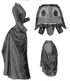 Victorian riding habit pattern #1302   Ageless Patterns