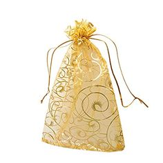 Leegoal Champagne Eyelash Organza Drawstring Pouches Jewelry Party Wedding Favor Gift Bags: Quantity: Leegoal bulk packing with good quality warranty. Weight: app for Colour:Champagne Use in wedding and any other celebration occasions Indian Wedding Gifts, Wedding Gifts For Guests, Wedding Favor Bags, Party Favor Bags, Gifts For Wedding Party, Wedding Ideas, Wedding Tables, Wedding Crafts, Diy Party
