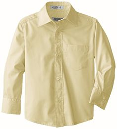 Genuine Boys' Long Sleeve Broadcloth Shirt >>> Find out more details @