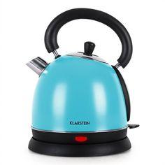 Bouilloire électrique inox turquoise 2200W