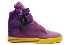 1a118c680be8 Justin Bieber Supra · Supra High Tops In Purple Eggplant Yellow  56.98 Supra  High Tops