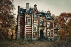 Exploring The Haunted Manor | Gdansk, Poland...there are some great pictures and history on this site.