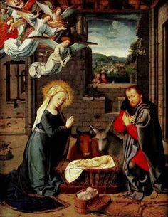 Nativity  by Gerard David    Merry Christmas! Today is the 3rd Day of Christmas: the Christmas Season is only three days young.   The tro...