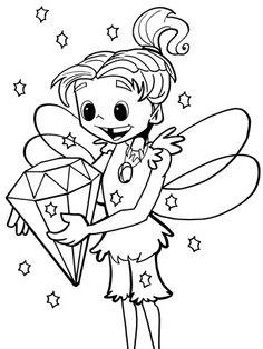 Fairy with Diamond