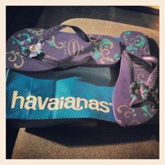 Minhas havaianas...