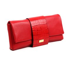Pinot Clutch in Red  Discover more at www.angelreinares.com