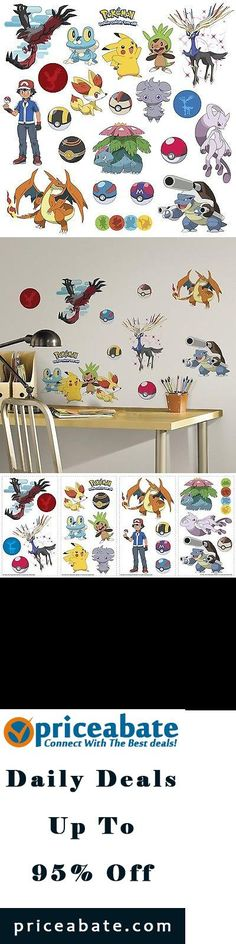 #priceabatedeals POKEMON XY 24 Wall Decals Room Decorations Pikachu Pokeball Boys Decor Stickers - Buy This Item Now For Only: $13.99