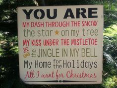 Cute poem for your partner at Christmas