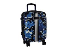 """TOMMY HILFIGER Floral 21"""" Upright Suitcase. #tommyhilfiger #bags #travel bags #suitcase #"""
