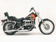 The FXWG Wide Glide is introduced for the 1980 model year. Harley Davidson 883, Harley Davidson History, Harley Davidson Street, Harley Davidson Motorcycles, Hd Motorcycles, American Motorcycles, Motorcycle Museum, Motorcycle Art, Amf Harley