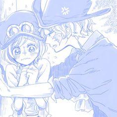 Sabo x koala Sabo One Piece, One Piece Ship, Monkey D Dragon, Koala One Piece, Fairy Tail, Manga Anime, Anime Art, Pirate Island, One Piece Pictures