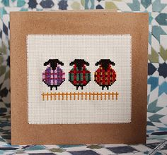 Cross Stitch Pattern  The Tartan Sheep cross stitch pdf