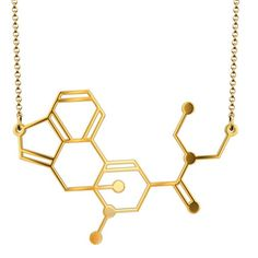 LSD (Acid) Molecule Structure Necklace Beautiful and brand new! Jewelry Necklaces