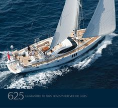My future sailboat. Oyster 625