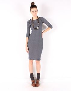 Small Trades boatneck tee dress-- perfect for spring.