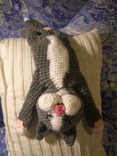 Crochet Parfait: Laid-Back Cat Amigurumi, free pattern