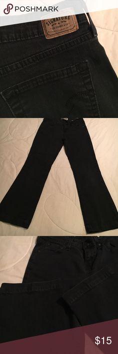 "Levi's Signature Mid Rise Bootcut Jean Levi's Signature Mid Rise Bootcut Jean with Approx 26 1/2"" Inseam Levi's Jeans Boot Cut"