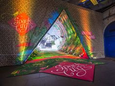 This tunnel between Waterloo and the Southbank has been turned into a giant kaleidoscope by #sparkyourcity | City A.M.