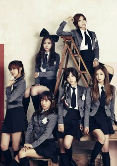 Apink Kpop Girl Groups, Korean Girl Groups, Kpop Girls, Pink Panda, Doja Cat, Red Books, Korean Artist, Cute Asian Girls, Gyaru