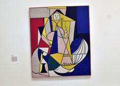 """""""Roy Lichtenstein 1963 Femme d'Alger oil on canvas """" Roy Lichtenstein, Arte Pop, Gerard Richter, Klimt, Modern Art, Contemporary Art, Industrial Paintings, Pop Art Movement, Ellsworth Kelly"""
