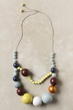 This can be easily replicated for way less by spray painting some wooden beads!