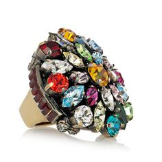 Emilio Pucci Crystal Ring - Pucci is one of my all time favourite designers