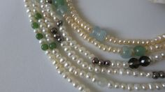 Ketten Pearl Necklace, Pearls, Jewelry, Fashion, Chains, Schmuck, String Of Pearls, Moda, Jewlery