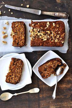 Grain Free Apple Walnut Bread