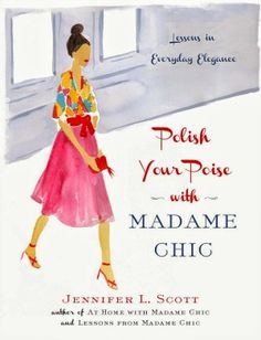 Polish Your Poise.  Nice enough but very similar to her first two books.  Better to borrow it from a library.